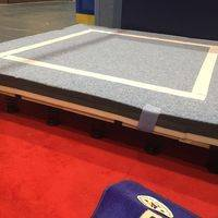 gymnastic free exercise field,free exercise field,gymnastic equipment,indoor gymnastic equipment