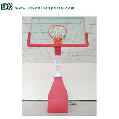 Portable remote control basketball unit indoor basketball backboard