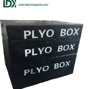 Soft plyo box jump box gym fitness equipment