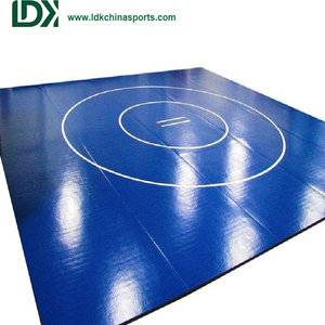 Wholesale closed-cell wrestling mat cover vinyl mat
