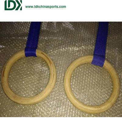 Gymnastics wooden rings custom sale and custom
