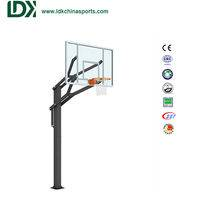 In Ground Adjustable Basketball Hoop,In Ground Basketball Hoop