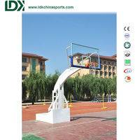 Basketball Uprights,Hydraulic Basketball Hoop,Outdoor Basketball Hoop