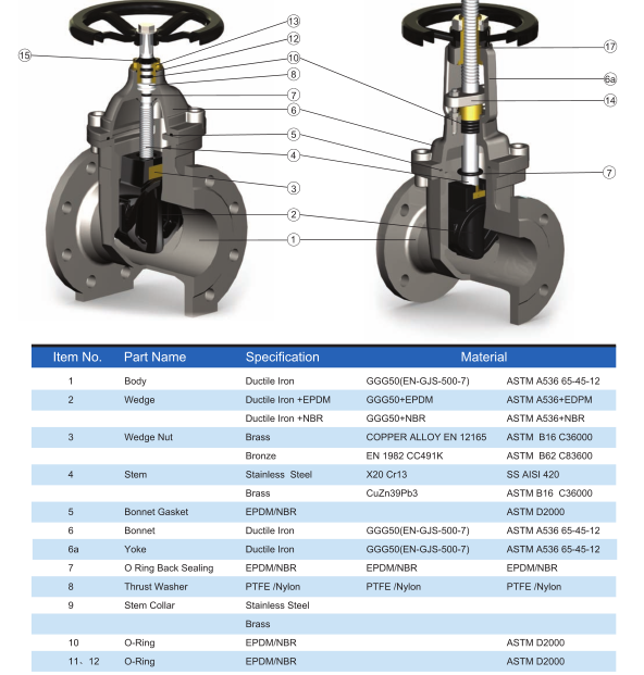 Elastic seal gate valves
