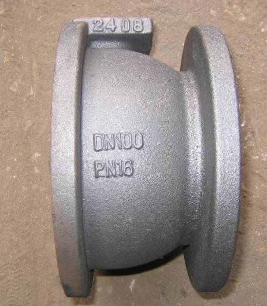 CAST BALL VALVE BODY