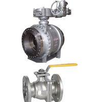 BALL VALVE,CAST STEEL BALL VALVE,Trunnion Mounted Ball Valve,BALL VALVE manufacturer