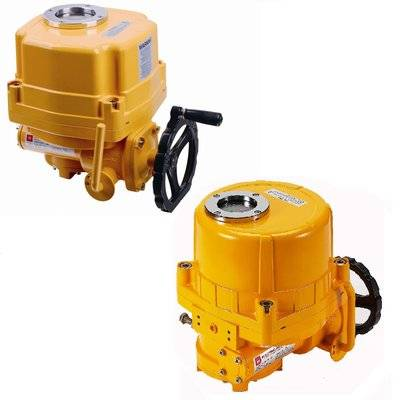 Quarter-turn electric actuators