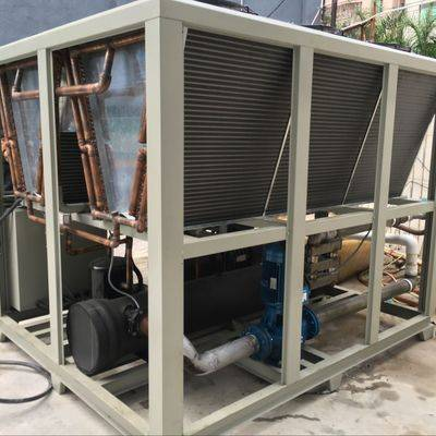 Top chiller TPAS-260ASH High Efficient Air Cooled Screw Chiller Machine For food process industry