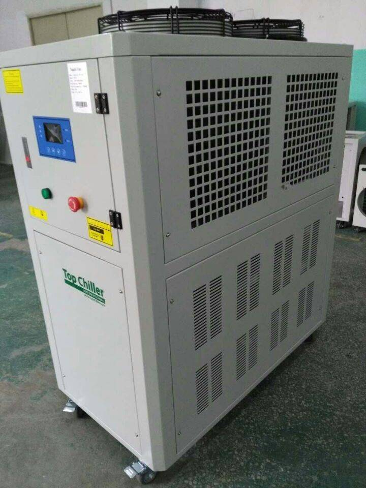 4.2TR air cooled chiller with vertical water pump,danfoss compressor for water treatment industry