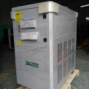 bottle blowing machine chiller,water chiller for blowing machine,film blowing machine chiller,air cooled water chiller for film blowing machine,plastic and rubber machines water chiller,injection moulding machine water chiller,plastic bag water chiller,air cooled compressor water chiller