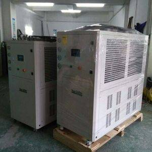 -10C/-15C air cooled low temperature water chiller used for chemical process industry to Singapore