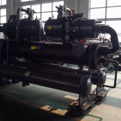 245Tons screw type water cooled industrial chiller used in frequency smelting furnance