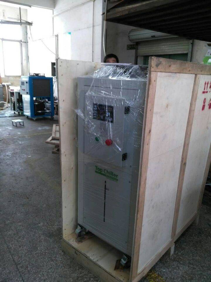 5Tons -15C/-20C water cooled glycol type water industrial chillers for acid cooling