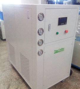 Copeland brand hermetic scroll compressor water cooled glycol chiller unit