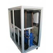 55KW -10C water cooled glycol water chiller for chemical industry use