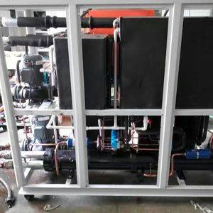 15Tons energy saving R404a refrigerant water cooled glycol water chiller