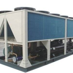 280HP cooling capacity Hanbell screw type compressor air cooled water chiller used in Philippine