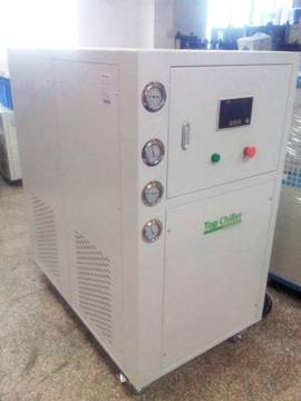 38KW cooling capacity PCB extroplating process cooling water cooled glycol chillers