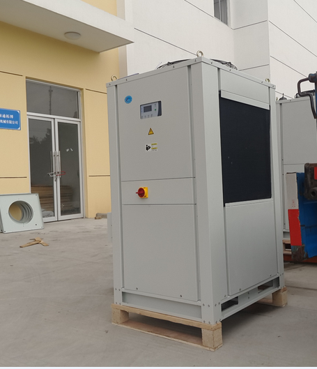 10Tons portable packaged Oil cooling Chiller for Spindle Bearing And Gerat cooling used in Dubai