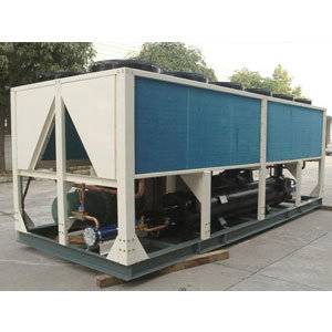 250KW hot melt adhesive machine used air Cooled screw water chiller