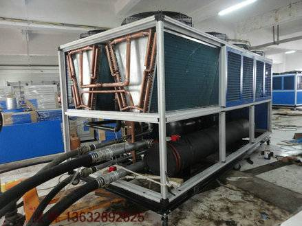 370000BTU/H cooling capacity Air cooled screw chiller, air to water screw chiller factory price