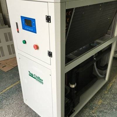 14KW air cooled water chiller for 1.5T CT scanning and MRI medical system