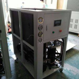 -15C Water Cooled Glycol type low temperature chiller with scroll compressors