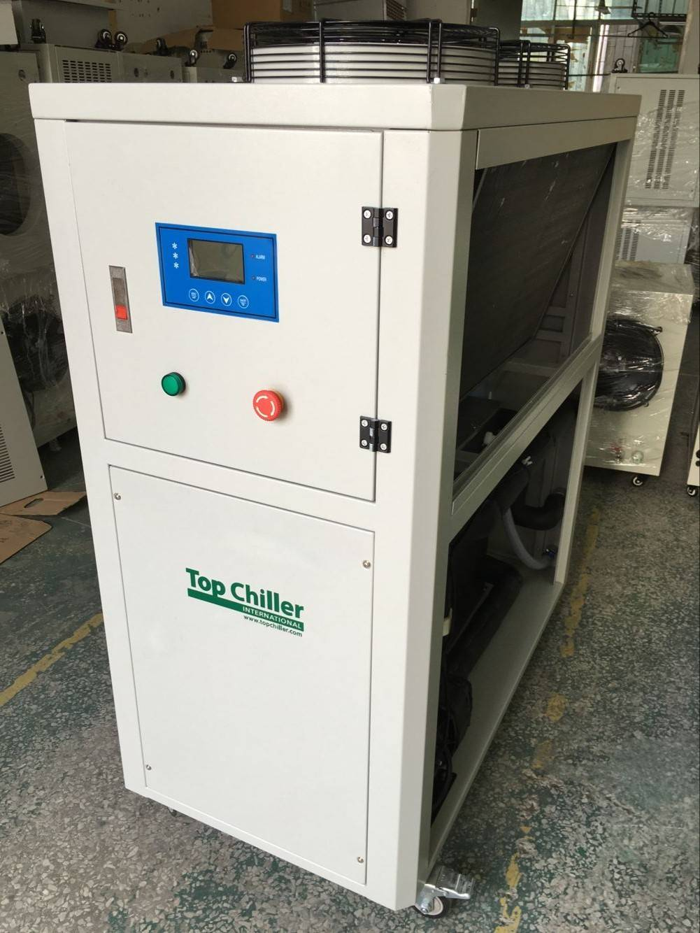 21KW portable energy saing air coold refrigeration chiller for injection moulding machine
