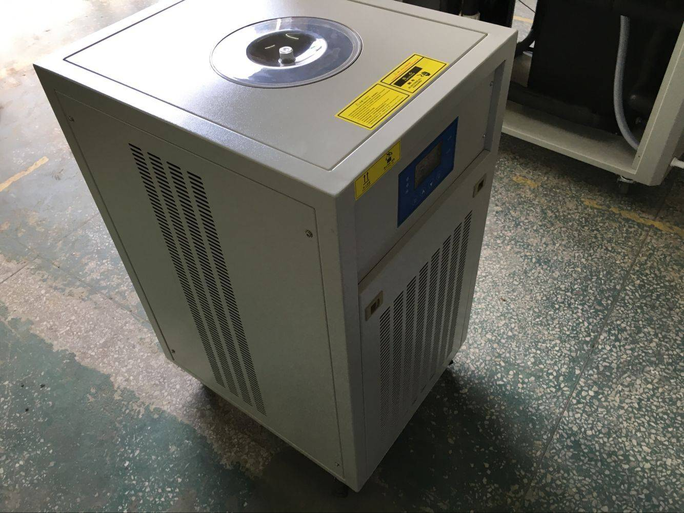 2.5KW Lab testing air cooled portable water chiller for vacuum drying oven