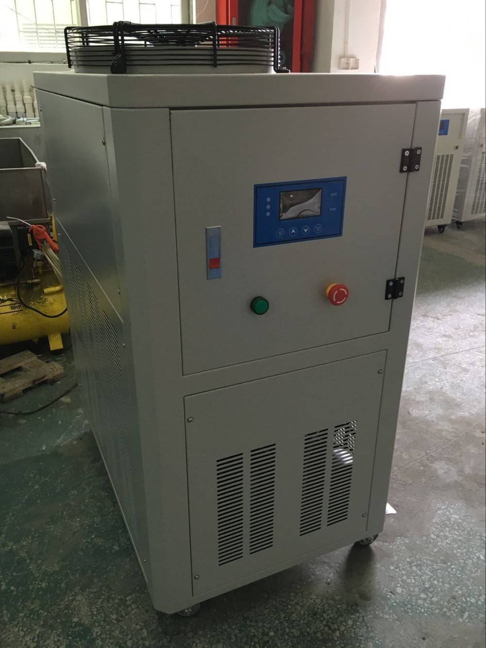 -10C/-25C best price high effiency 2 compressors air cooled glycol chiller for powder coating