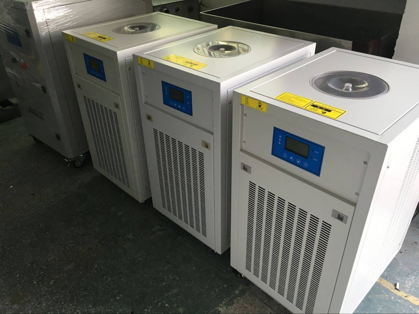 3.75KW air cooled mini chiller for Sinopec Shanghai Research Institute of Petrochemical Technology
