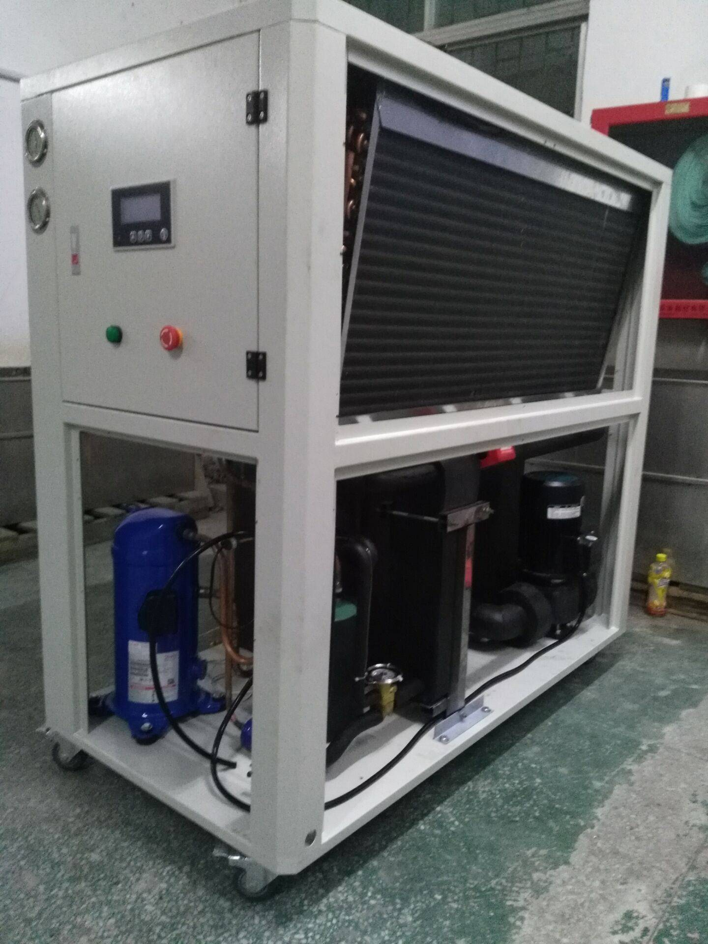 18KW air cooled water chiller for UAE dry cleaning machine