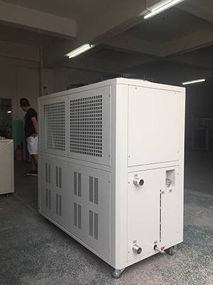 -5C/-10C 15Tons refrigeration capacity air cooled glycol chiller Chocolate Mold cooling