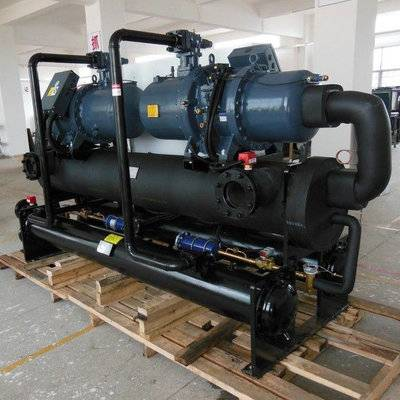 plastic/PVC calendering machine processing water cooled industrial chillers