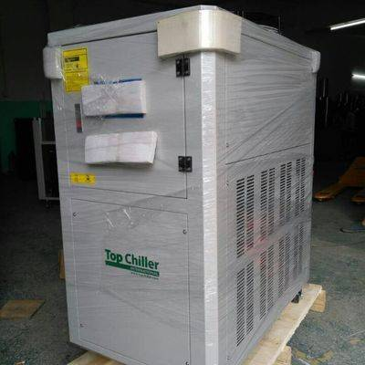 12000Kcal/hr cooling capacity air cooled water chiller for Silicone Rubber mixing roller machines