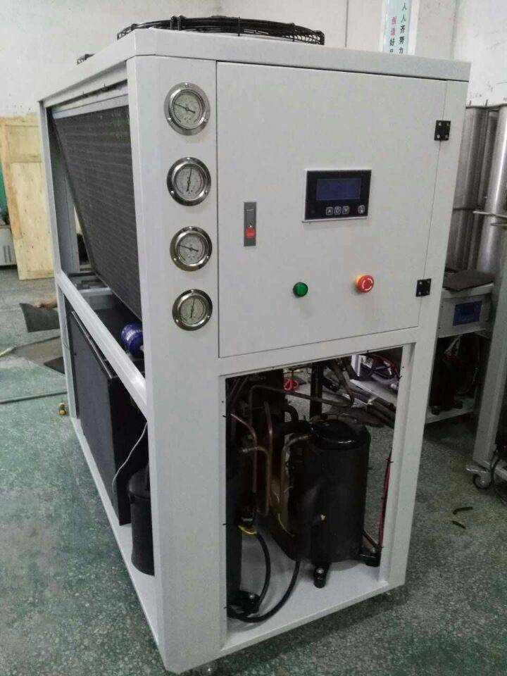 52kw air cooled chiller anodizing and electroplating process industry