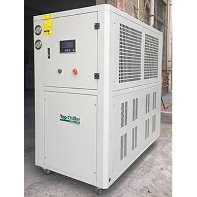 -8C/-13C  industrial air cooled glycol water chiller used for juice processing industry