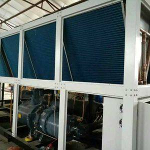 85 ton air cooled water chiller with Hanbell screw compressor electrode oxidization industriy
