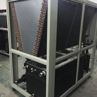 48KW vacuum coating systems air cooled water processing chiller unit