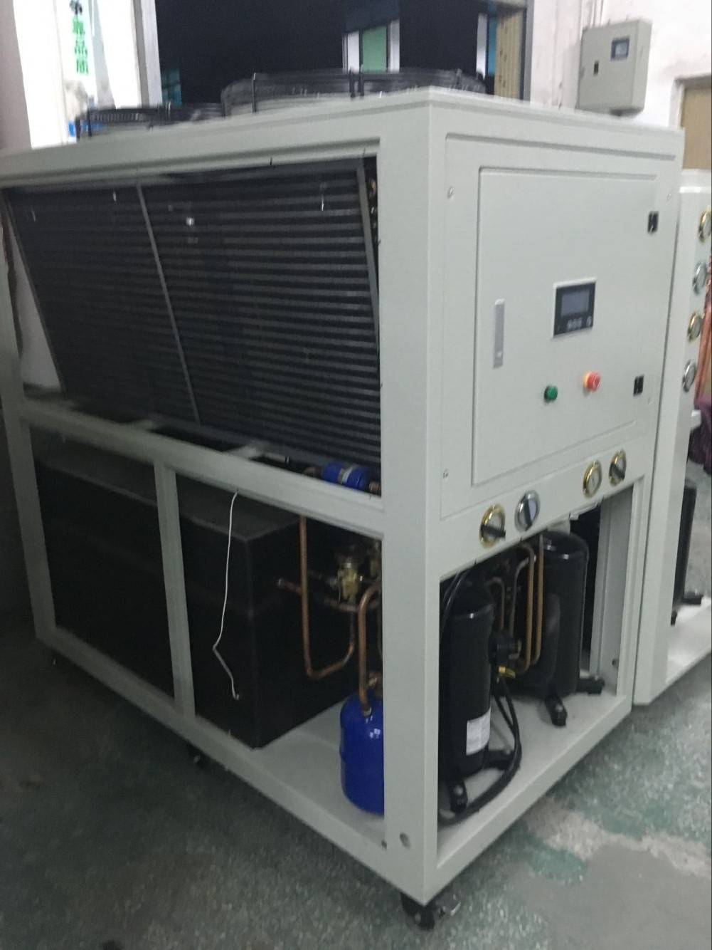 15TR Air cooled glycol water chiller with Copeland compressor