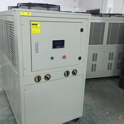 10Ton Air cooled glycol low temperature water chiller used for checmical processing