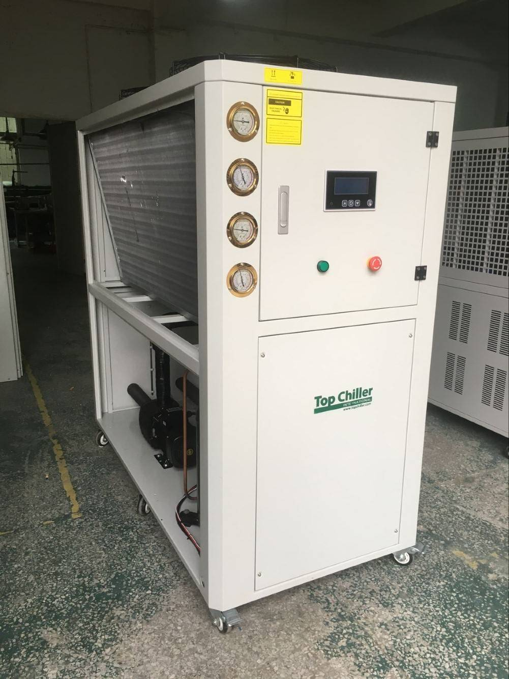 13KW R404a refrigerant Air Cooled Scroll compressor Glycol Water Chiller (-15degrees)