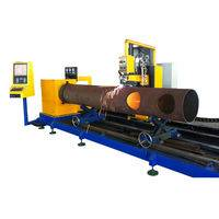 3 axis steel tube cutting machine