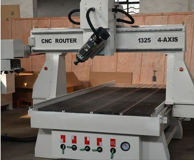 4 axis Wood cnc router-CW1325B