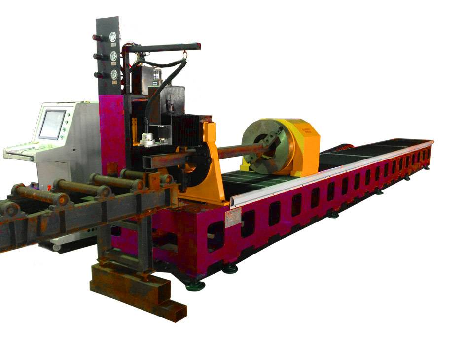 Beam plasma cutting machine, steel tube plamsa cutting machine-PT serials