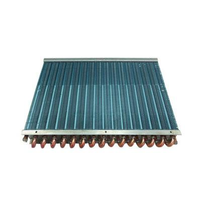 Copper pipe copper fin condenser