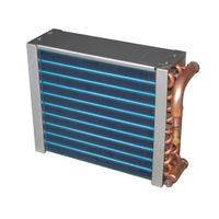 Copper tube copper fin condenser,stainless steel tube condenser,air cooled condenser price