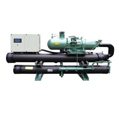 Water strong cooled screw chiller