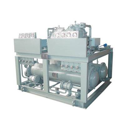 Water cooled marine condensing unit