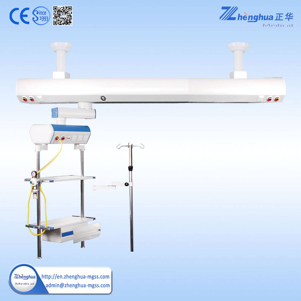 Medical Gas Equipment Ceiling Pendant Unit with Double Arm